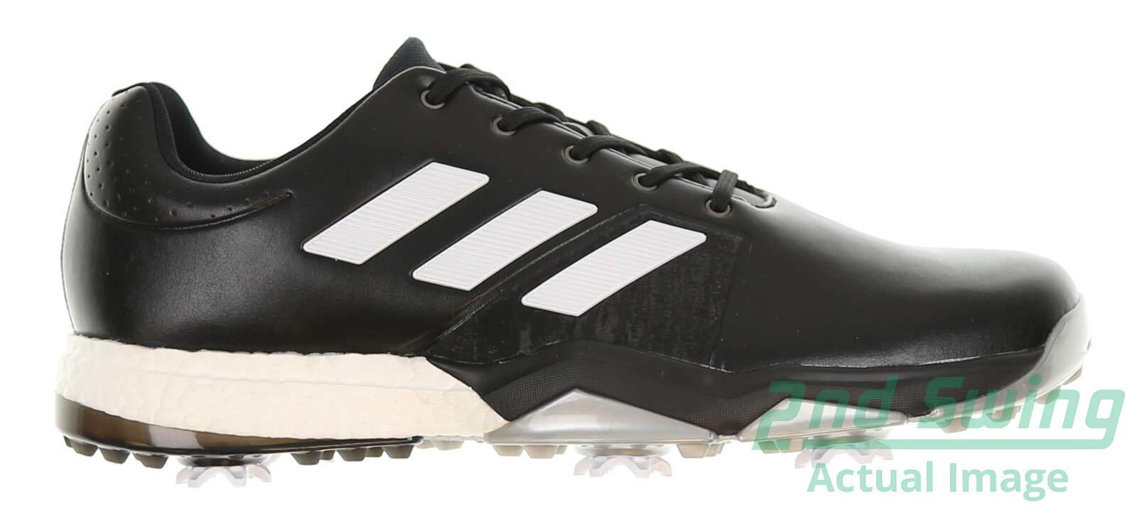 New hombre  Golf zapatos Adidas Adipower Boost 3 Medium negro / White