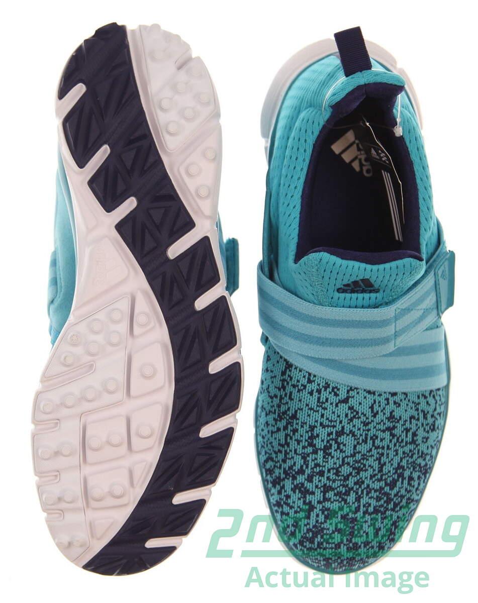 New Womens Golf Shoe Adidas ClimaCool Knit Medium 8 Blue