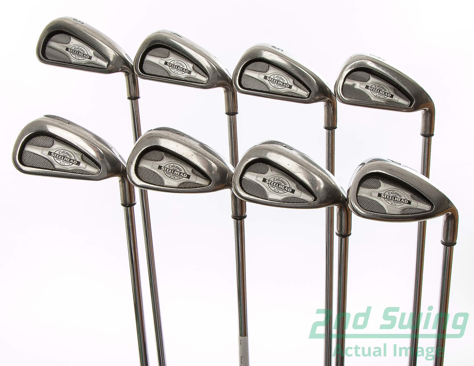 Used Callaway X 14 Pro Series Iron Set 3 Pw Stock Steel Shaft Steel