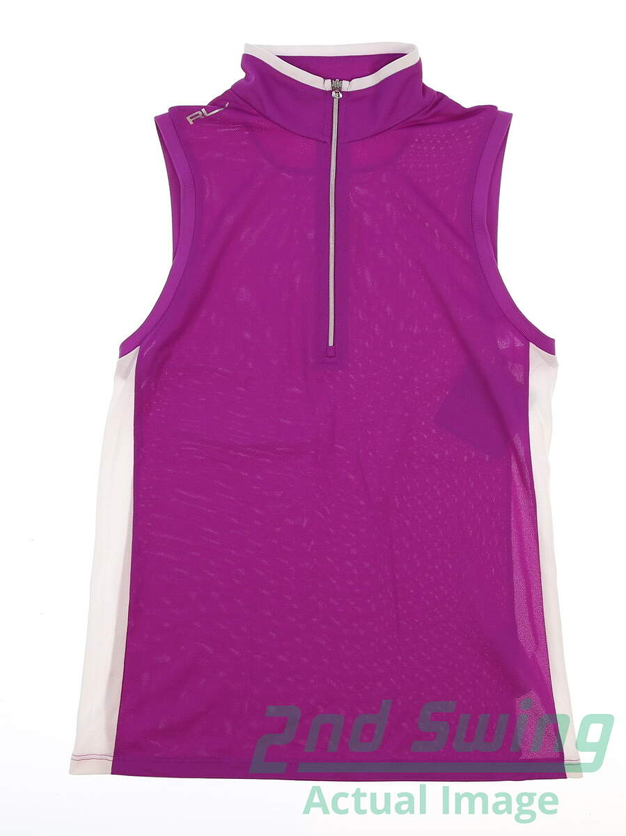 4509403e0f806 New womens ralph lauren golf tank shirt medium purple msrp jpg 898x1200 The golf  tank