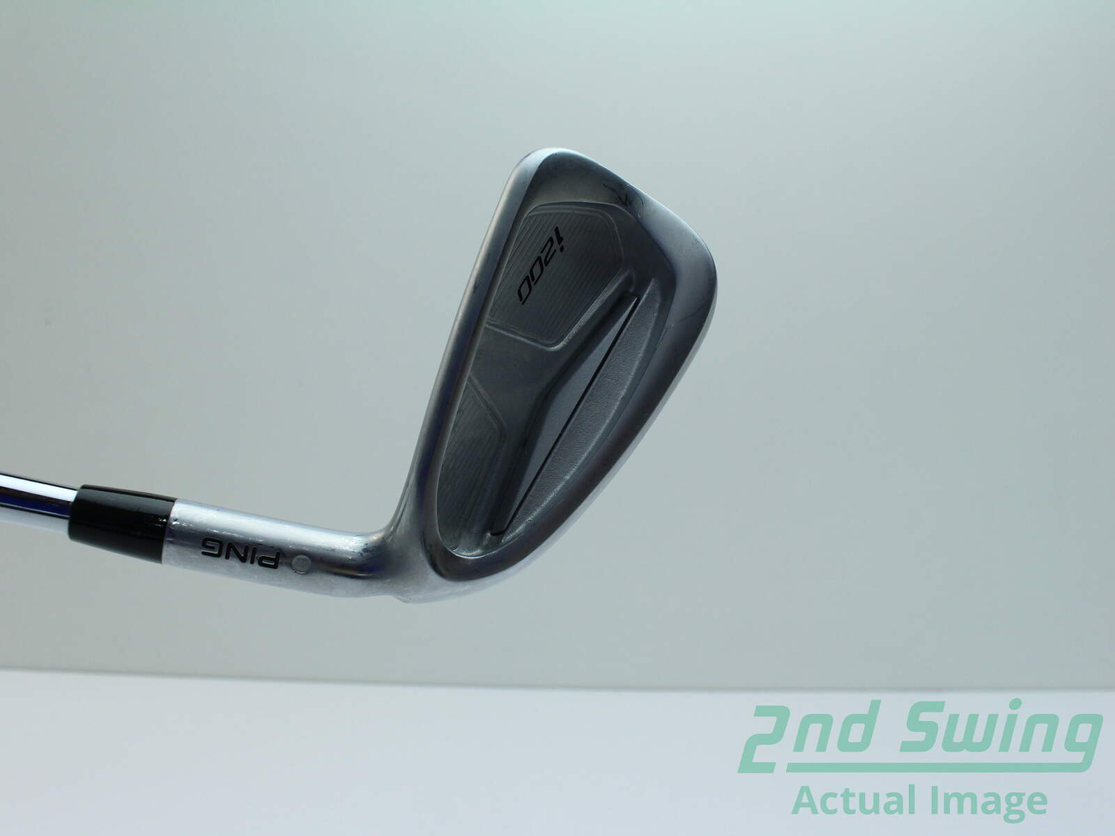 Used Ping i200 Single Iron 6 Iron AWT 2.0 Steel Stiff Right Handed ...