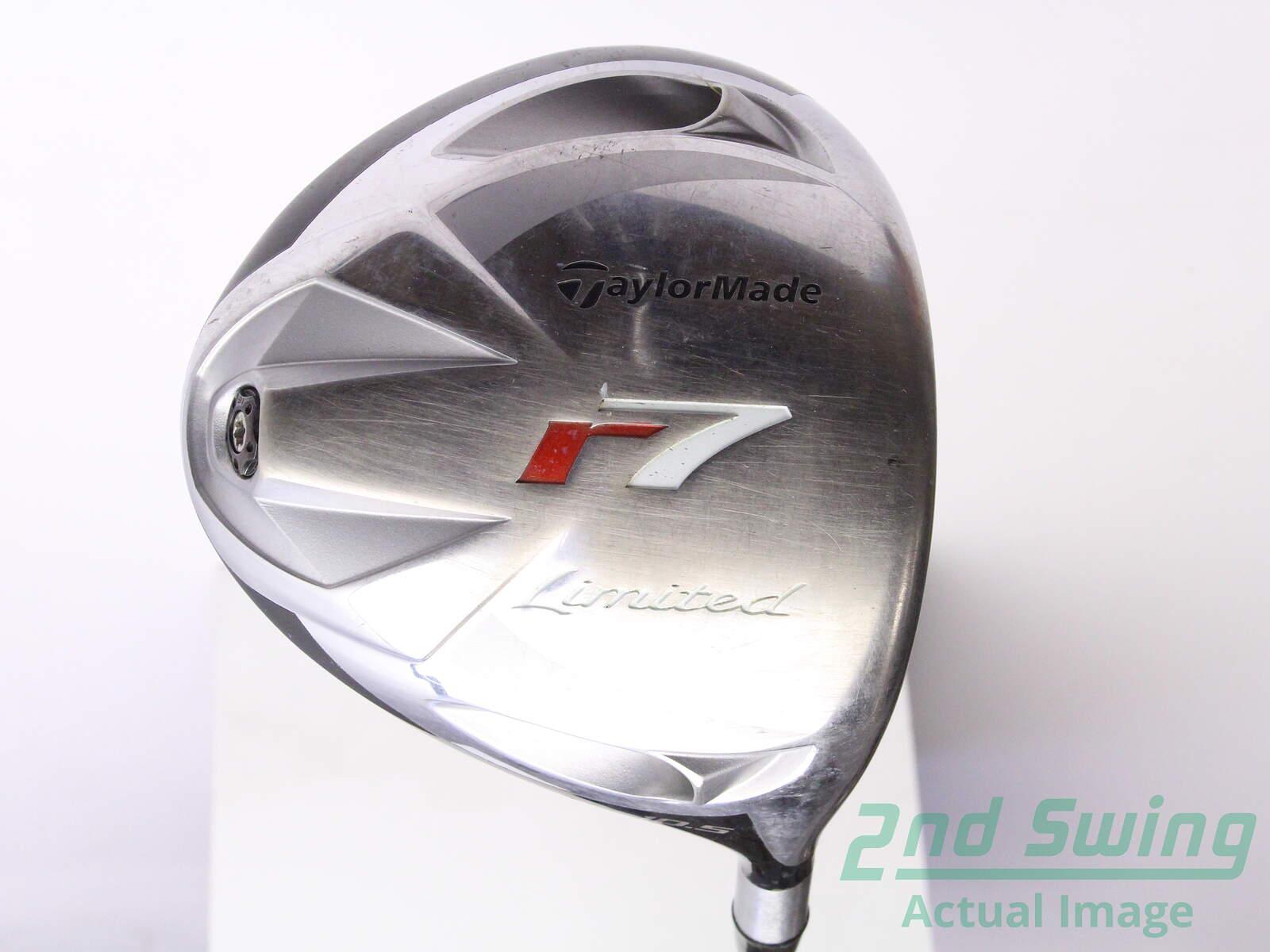 Used taylormade r7 limited driver 10. 5° fujikura e160 graphite.