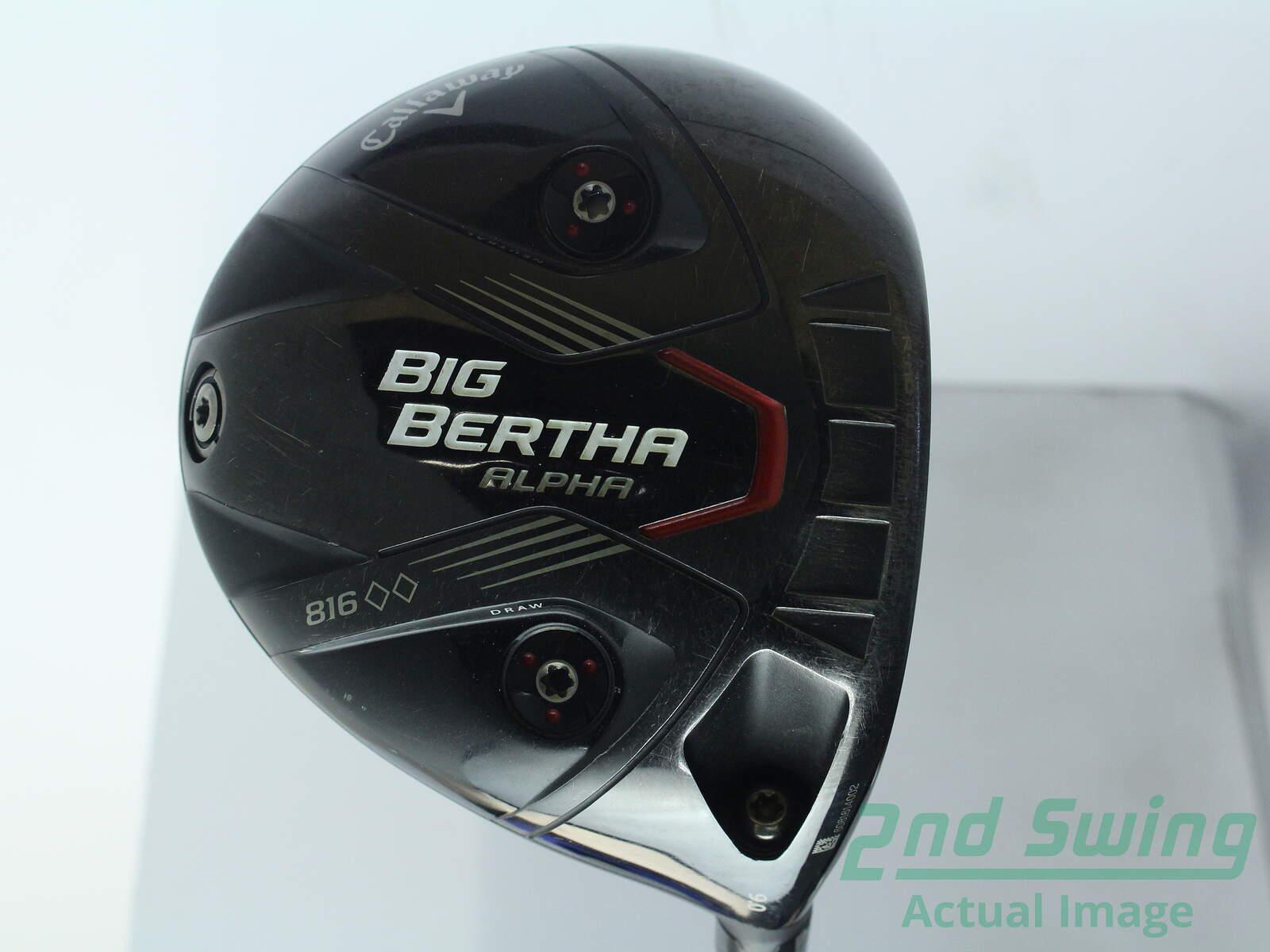 Used Callaway Big Bertha Alpha 816 Dbd Driver 9 Aldila Rogue Silver