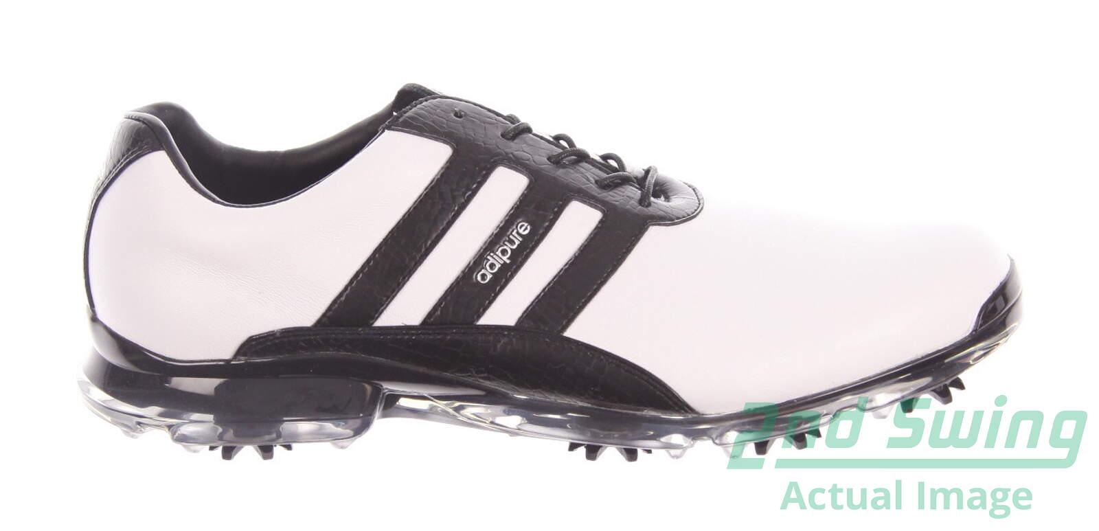 the best attitude 8a0d3 4fb12 New Mens Golf Shoe Adidas Adipure Classic Medium 11 WhiteBlack MSRP 170  Q44839 - Golf Footwear