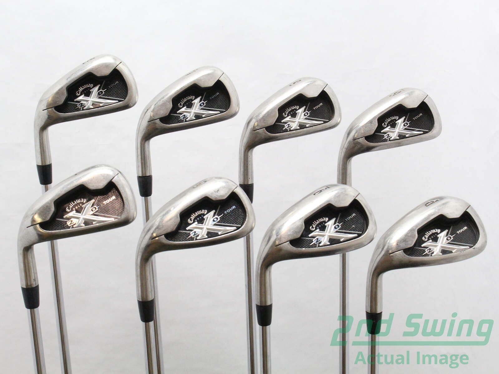 Used Callaway X 22 Tour Iron Set 3 Pw Project X Flighted 60 Steel