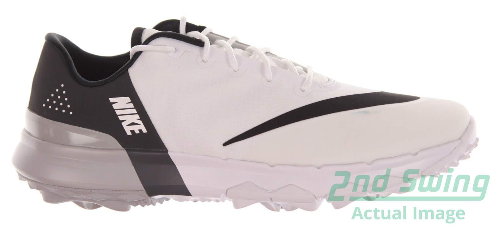 b9155dff9499 New Womens Golf Shoe Nike FI Flex 7.5 White Black MSRP  100 - Golf Footwear