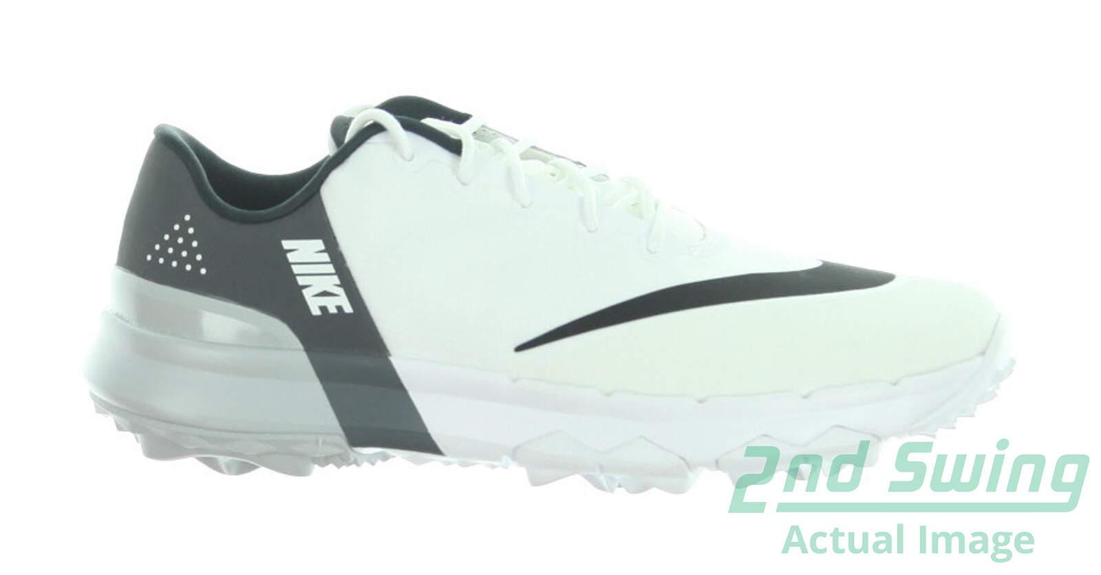 7bad4ace8e33 New Womens Golf Shoe Nike FI Flex 8.5 White Black MSRP  100 - Golf Footwear
