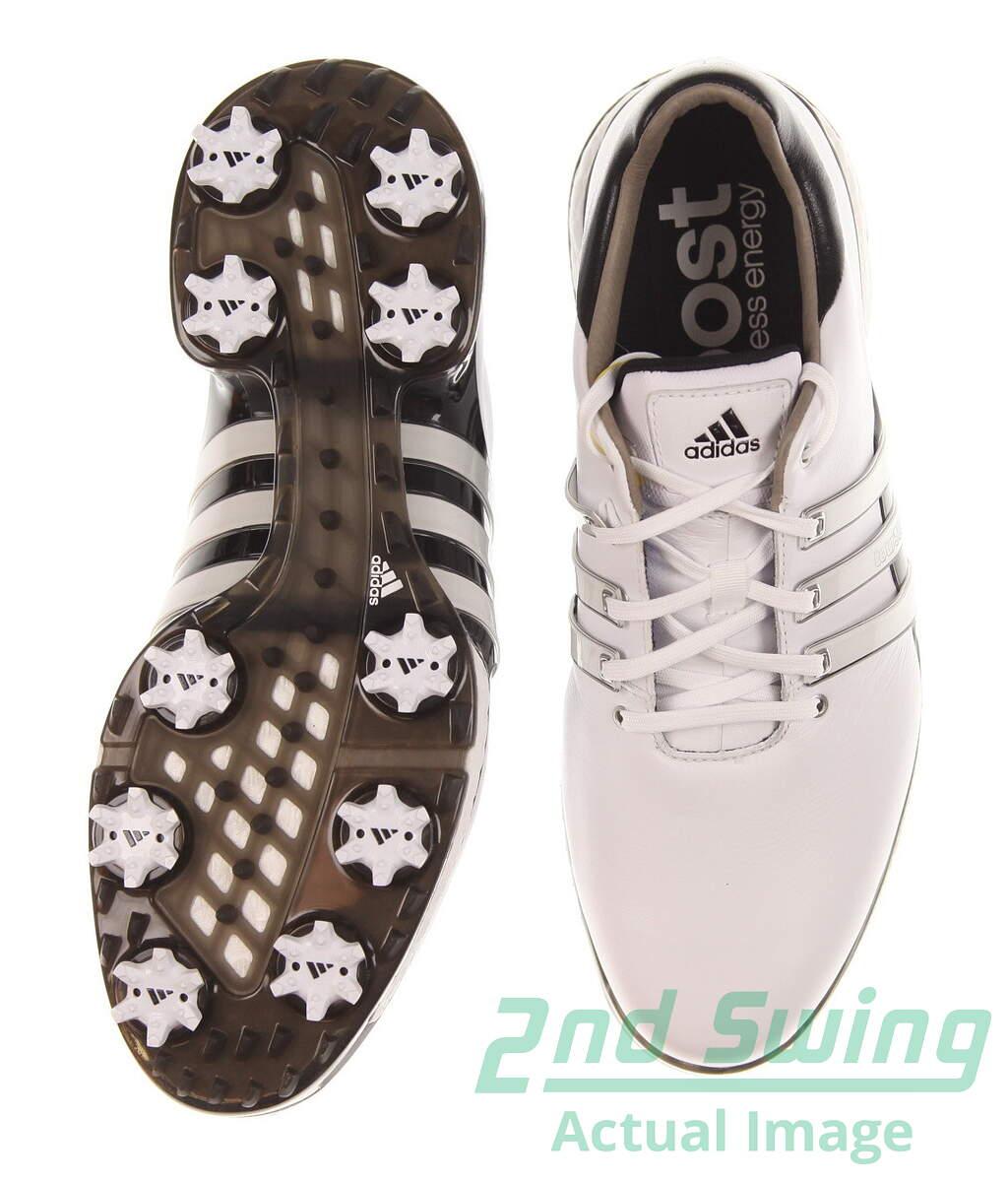 New Mens Golf Shoe Adidas Tour 360 Boost 2 0 Wide 9 5 White Black Msrp 200 Golf Footwear 2nd Swing Golf