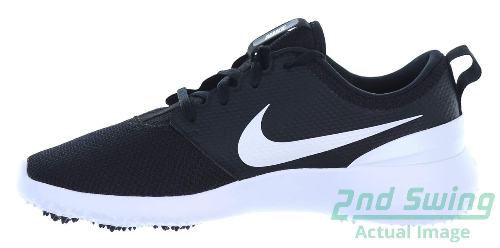 New Mens Golf Shoe Nike Roshe G 9.5 Black MSRP  80 - Golf Footwear ... ef20b98e7