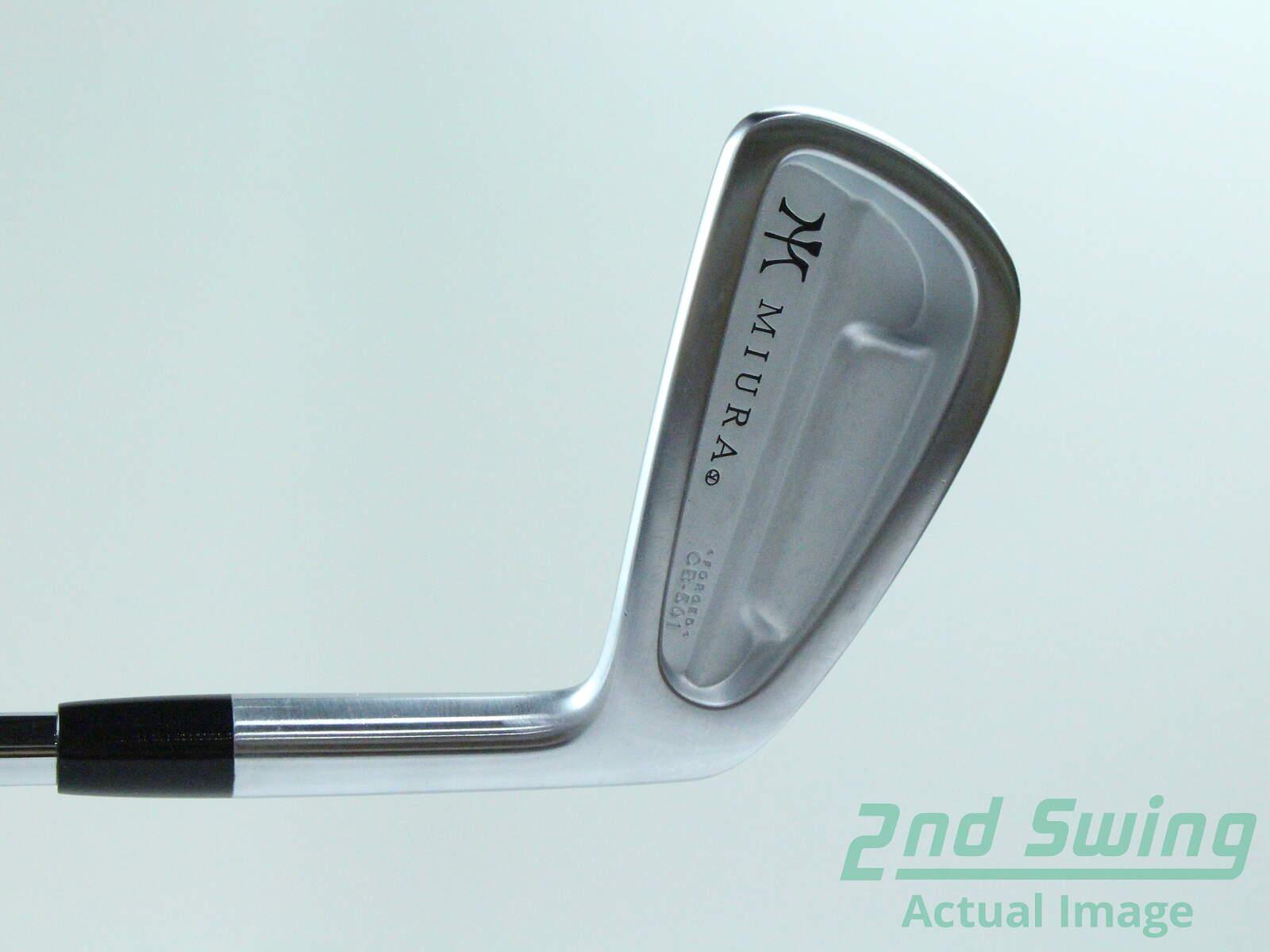 6a179c5af04c Used Mint Miura CB-501 Single Iron 4 Iron FST KBS Tour 90 Steel ...