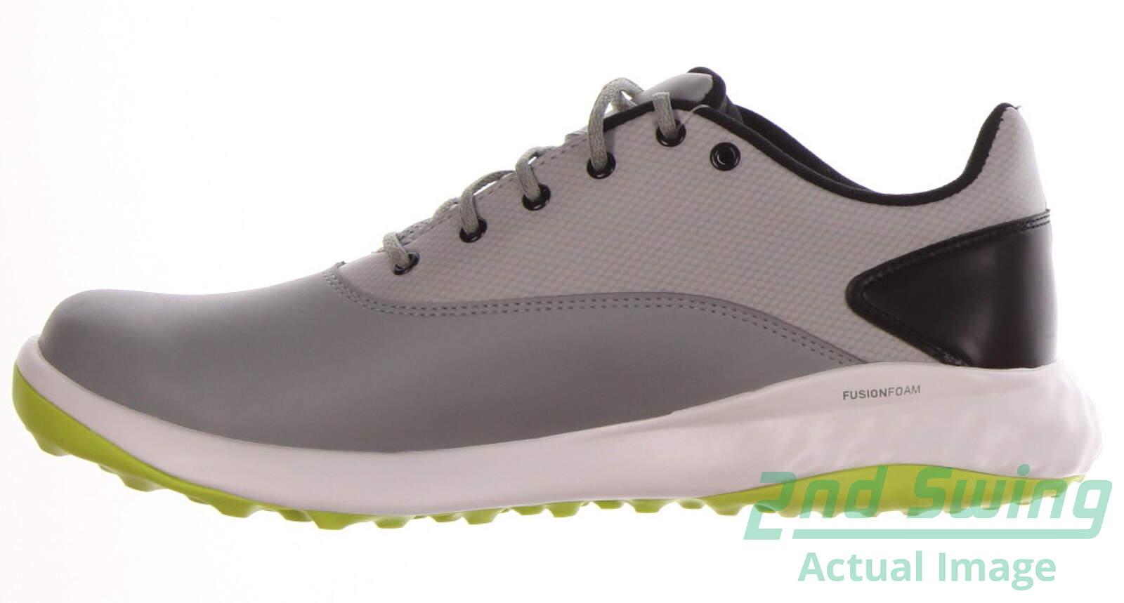 New Mens Golf Shoe Puma Grip Fusion Medium 8 Gray MSRP  80 - Golf Footwear   885be91fbec