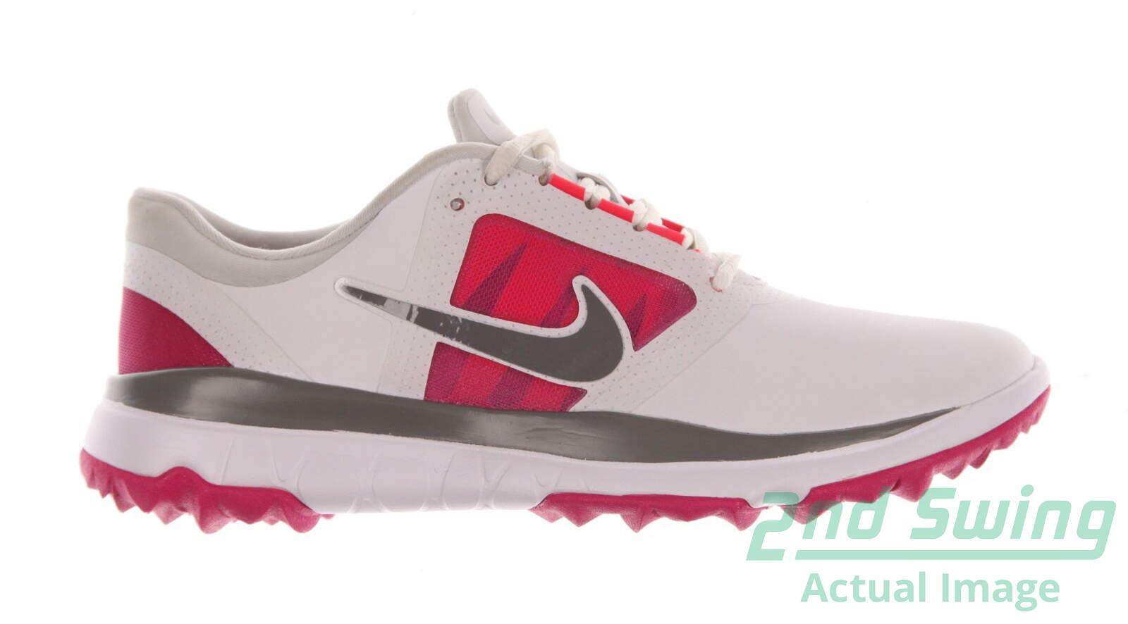 c9a0f717f188 New Womens Golf Shoe Nike Fi Impact Medium 10 White Pink MSRP  130 - Golf  Footwear