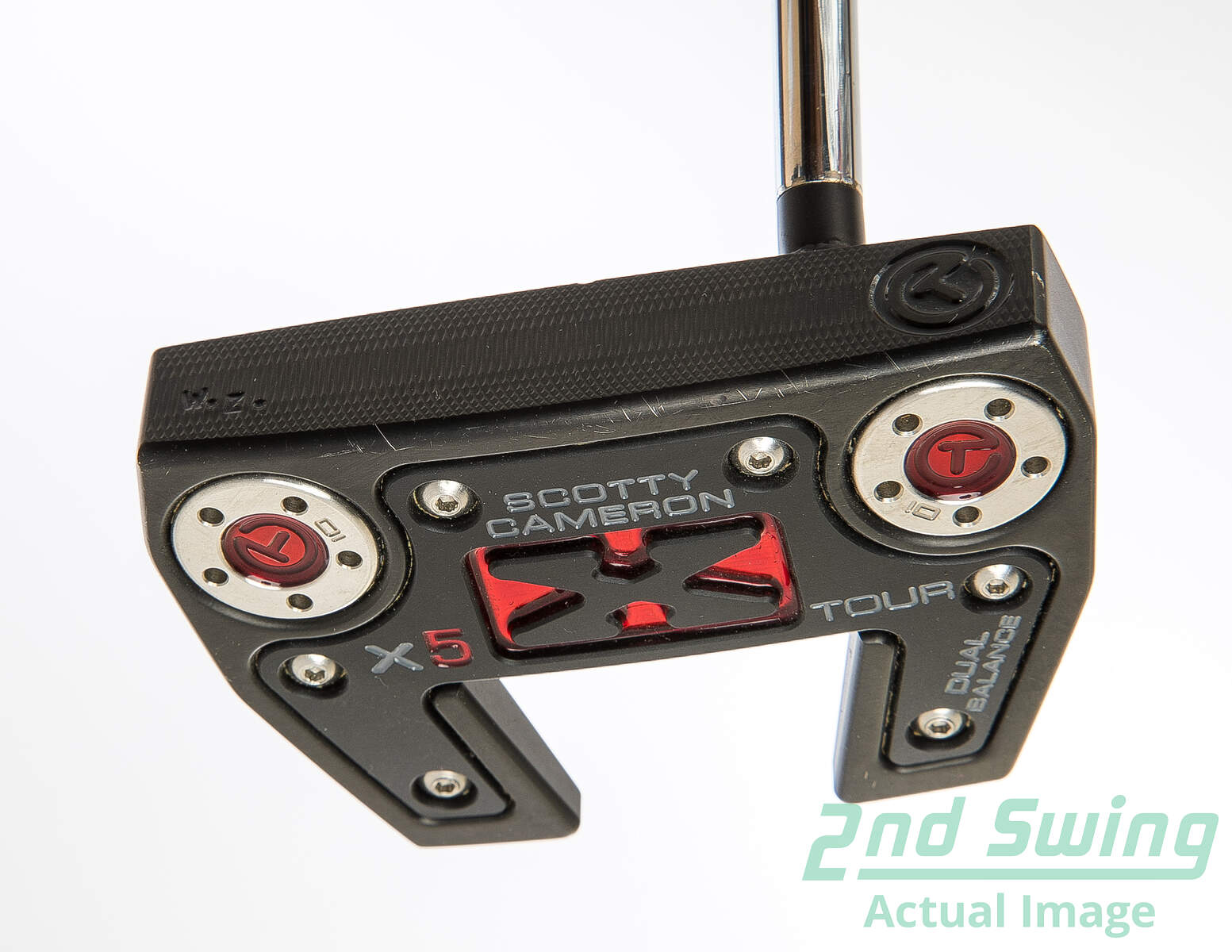 Used Titleist Scotty Cameron Circle T X5 Tour Dual Balance