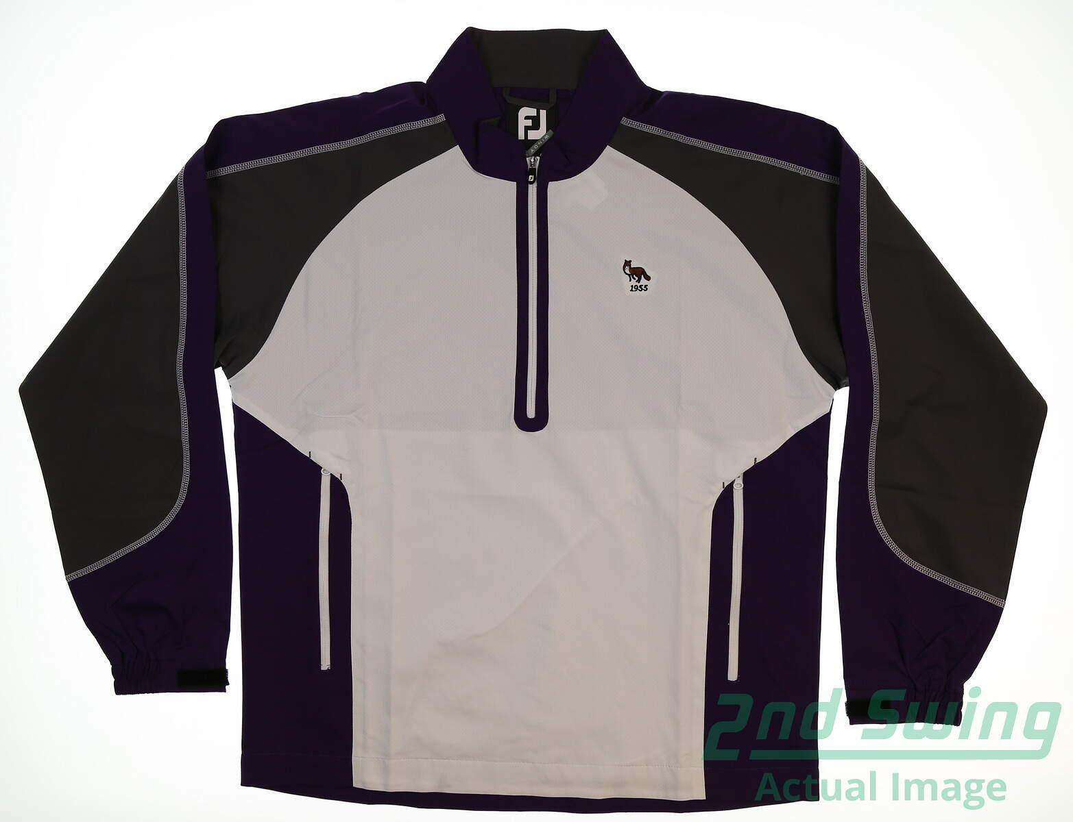 780b911b New W/ Logo Mens Footjoy Long Sleeve Sport Windshirt X-Large XL ...