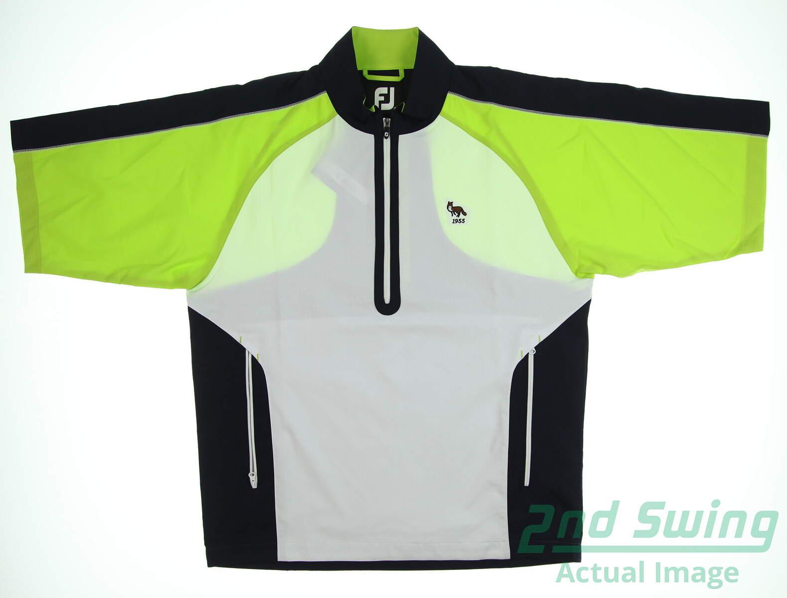 8816c28b New W/ Logo Mens Footjoy Sport Windshirt Small S Multi MSRP $99 ...