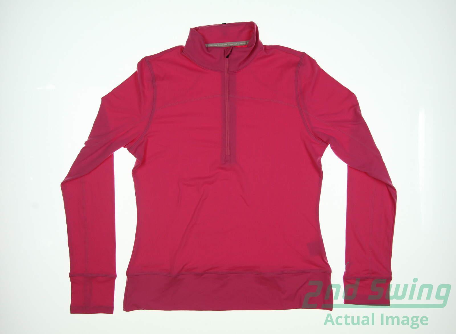 puma women's 1/2 zip pullover