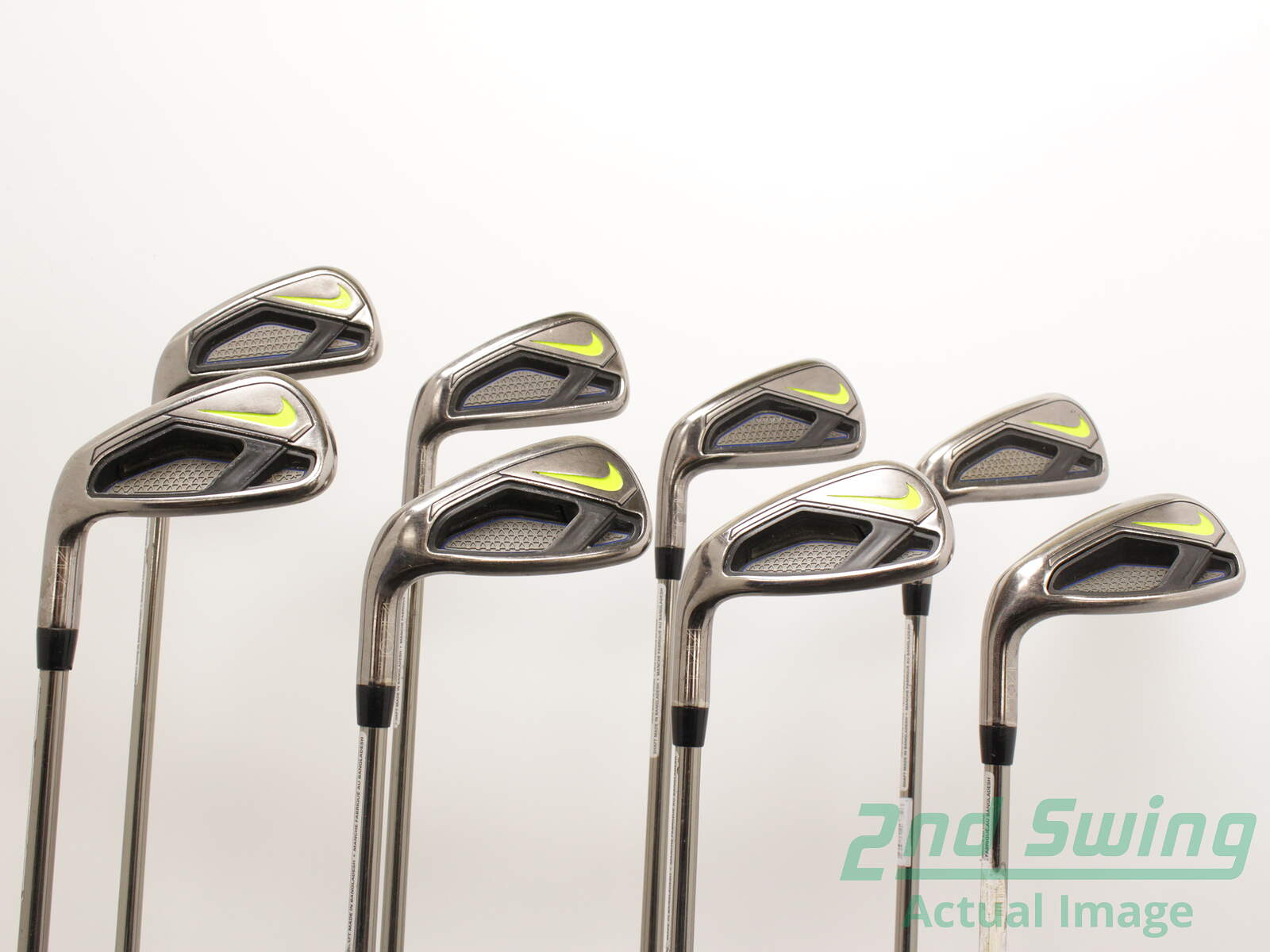 afa9678617e23 Nike Vapor Fly Iron Set 4-PW GW UST Mamiya Recoil 460 F2 Graphite Senior  Left Handed 38.5