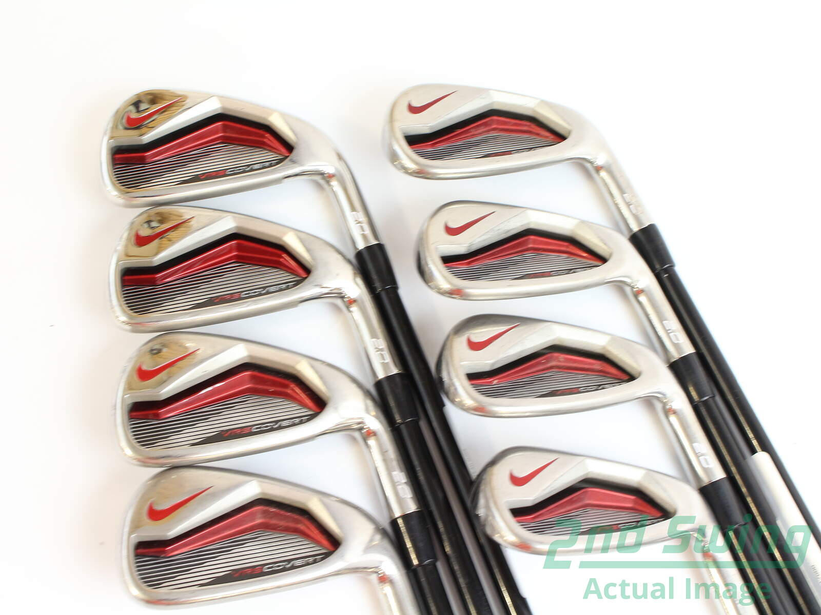 ce85a37c542a Nike VRS Covert 2.0 Iron Set 4-GW Kuro Kage Black Iron 70 Graphite Regular  Right Handed 39