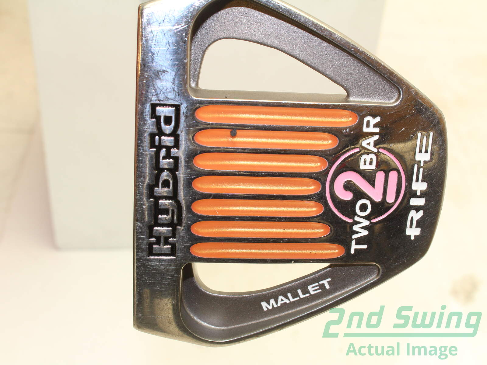 Guerin Rife Two Bar Hybrid Putter Steel Right Handed 32 Used Golf Club
