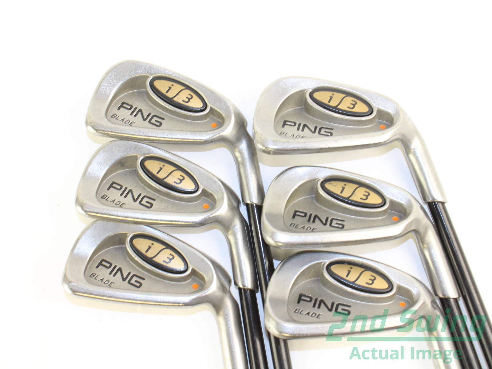 Used Ping I3 Blade Iron Set 5 Pw Stock Graphite Shaft