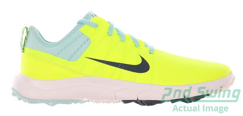 a71b8ae5e8ba New Womens Golf Shoe Nike FI Impact 2 6 Volt Rio Teal MSRP  140 - Golf  Footwear
