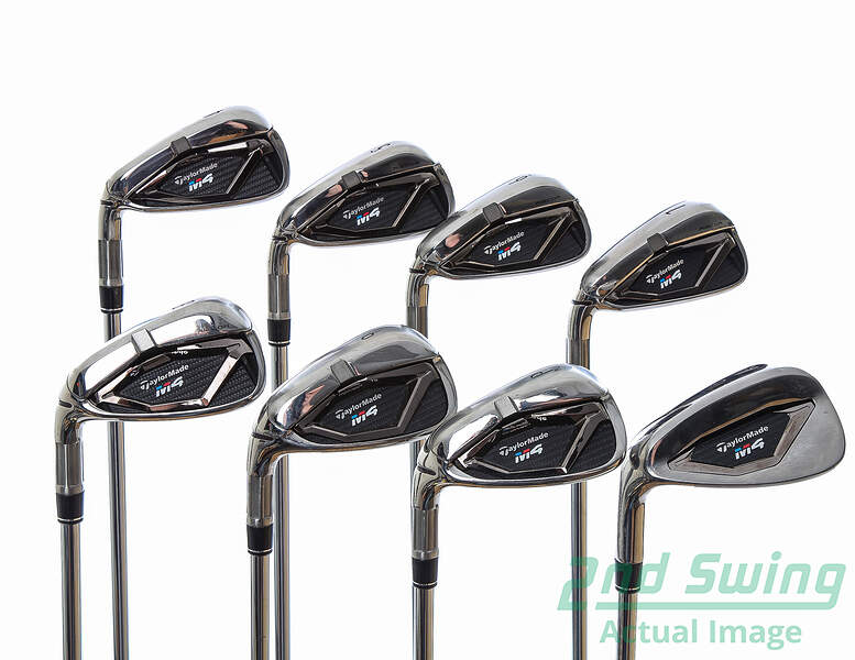 Used Taylormade M4 Iron Set 4 Pw Gw Fst Kbs Max 85 Steel