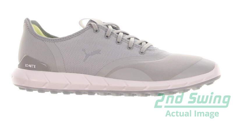 c1af8c9d73b1 New Womens Golf Shoe Puma IGNITE Statement Low Medium 8 Quarry White MSRP   100 - Golf Footwear