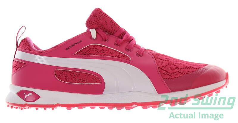 New Womens Golf Shoe Puma BioFly Mesh 8.5 Beatroot Purple White MSRP  90 - Golf  Footwear 02891b976