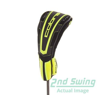 Cobra Baffler T Rail Hybrid Headcover Head Cover Golf Adjustable Tag Green Black