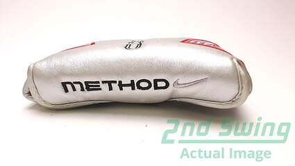 Nike Method Core Silver Mallet Putter Headcover Head Cover Golf