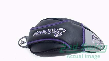 Ping Serene 4 Hybrid Headcover HC Ladies Golf Head Cover Black and Purple