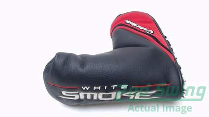 TaylorMade White Smoke Series Blade Putter Headcover Black Head Cover