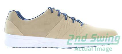 new-mens-golf-shoe-footjoy-2019-contour-casual-medium-115-tan-msrp-120-54056