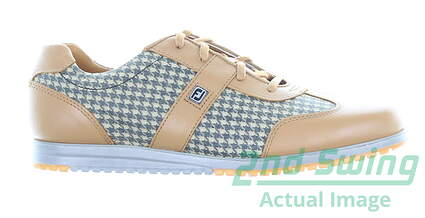 new-womens-golf-shoe-footjoy-casual-collection-medium-8-brown-msrp-120-97719