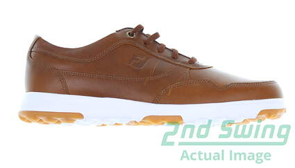 new-mens-golf-shoe-footjoy-golf-casual-medium-115-brown-msrp-130-54514