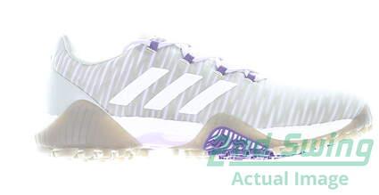 new-womens-golf-shoe-adidas-codechaos-medium-8-purplegray-msrp-130-ee9340
