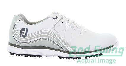 new-womens-golf-shoe-footjoy-2019-pro-sl-medium-65-white-msrp-150-98100