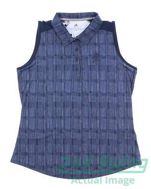 new-w-logo-womens-adidas-sleeveless-golf-polo-large-l-navy-blue-msrp-75-dp5913