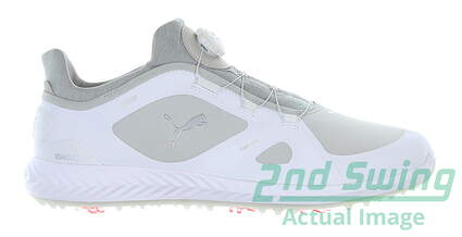 new-mens-golf-shoe-puma-ignite-pwradapt-disc-medium-75-white-msrp-150-190582-01