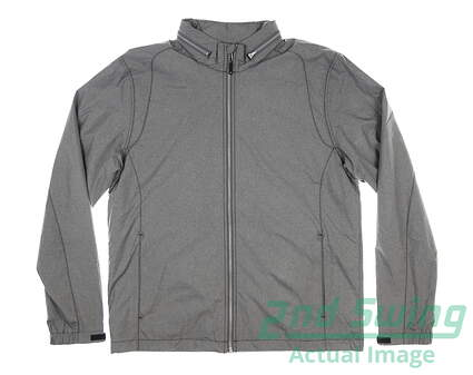 new-mens-cutter-buck-panoramic-packable-jacket-large-l-gray-msrp-135