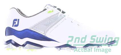 new-mens-golf-shoe-footjoy-tour-x-medium-8-whiteblue-msrp-200-55404