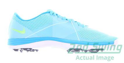 new-womens-golf-shoe-nike-lunar-summer-lite-2-medium-65-blue-628539-401-msrp-100