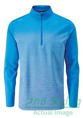 new-mens-ping-fracture-14-zip-pullover-x-large-xl-sky-azure-p03349-msrp-109