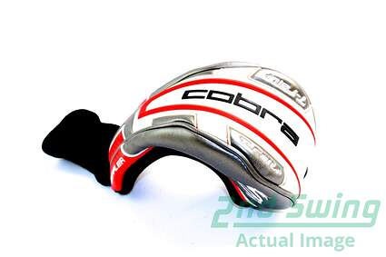 Cobra T-Rail + Red Gray White Fairway Wood Headcover Head Cover Golf