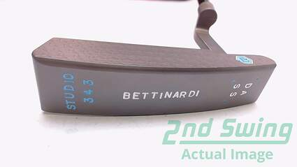 Mint Bettinardi Studio 343 DASS Putter Graphite Right Handed 35 in with Headcover and COA