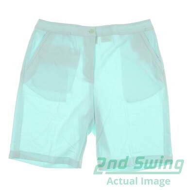 New Women's EP Pro Golf Shorts Size 14 Beach Glass