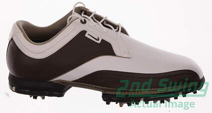 New Mens Golf Shoes Nike Tour Premium Wide Size 9.5 Brown 379221-171