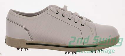 New Womens Golf Shoes Footjoy eComfort Medium Size 10 White 98749