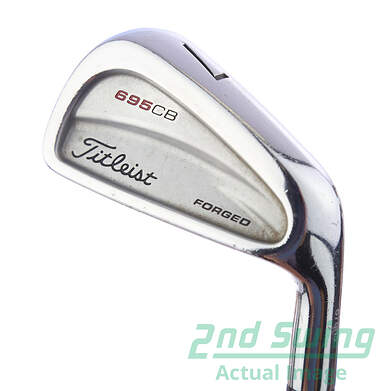 Titleist 695 CB Forged Iron Set 3-PW True Temper Dynamic Gold S300 Steel Stiff Right Handed 38.5 in