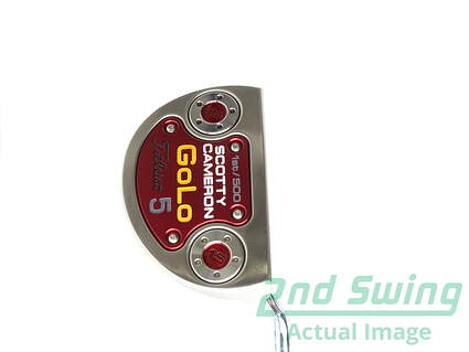 Titleist Scotty Cameron 1st of 500 Select Golo 5 Putter Putter Steel Right 34 in